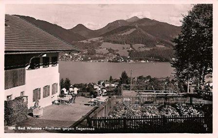 historisches Bild vom Freihaus Brenner
