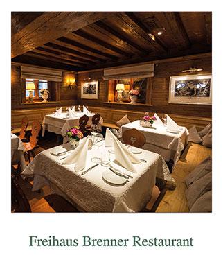 Freihaus Brenner Restaurant